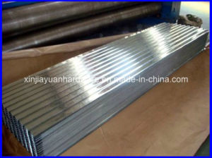 Z40 Corrugated Galvanized Steel Roofing Sheet for Outdoor Roof Shade pictures & photos