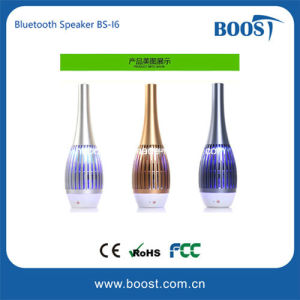 Fasionable Flower Vase Design New LED Light Bluetooth Speaker