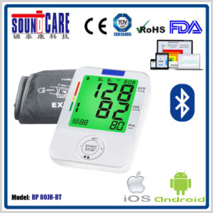 Bluetooth Digital Automatic Blood Pressure Monitor (BP 80JH-BT) pictures & photos