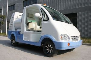 3000W Green Power Electric Washing Truck pictures & photos