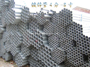 Dn25X1.4mm Hot DIP Galvanized Steel Pipe pictures & photos