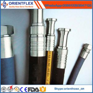 China Supplier ISO14001 En856 4sh 4sp Hydraulic Rubber Pipe pictures & photos