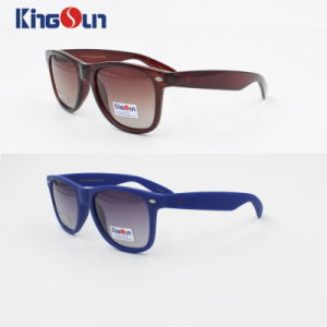 Acetate Sunglasses Metal Logo on Front Ks1097 pictures & photos
