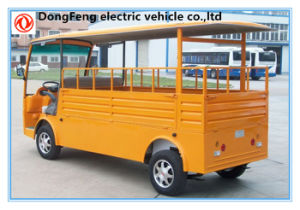 2 Seats Electric Pick up Vehicle with Cargo Box