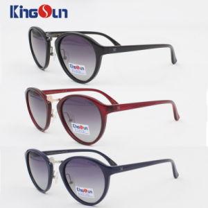 Metal Bridge Acetate Fashion Sunglasses Ks1102 pictures & photos