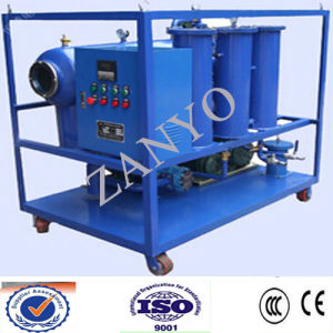 China Portable Turbine Oil Recycling Machinery, Oil Purifier pictures & photos