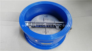 Double Door Non Return Butterfly Check Valve (H76X-10/16) pictures & photos