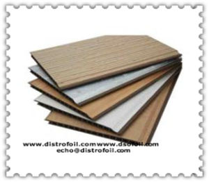 Wood Grain Heat Transfer Foil for PVC Extruded Profiles pictures & photos