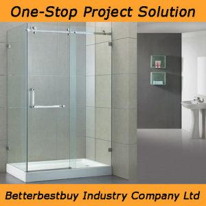 Casement Door Shower Room with Acrylic Base pictures & photos
