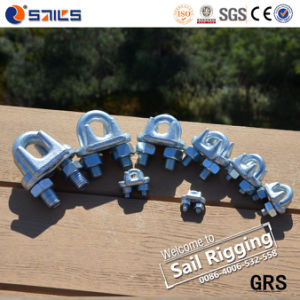 China Supplier Us Type Drop Forged Wire Rope Clips pictures & photos