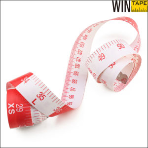 Red Color Printable 150 Meter Measure Rules Sewing Branded for Target (FT-077) pictures & photos