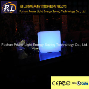 Lighting up Outdoor& Indoor Colorful Plastic Chair LED Cube pictures & photos