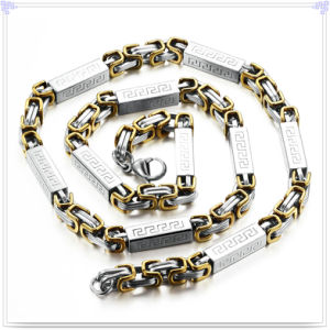Fashion Jewelry Fashion Necklace Stainless Steel Chain (SH057)