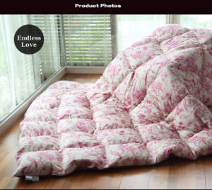 Printing Super Soft Cover White Duck Down Quilt pictures & photos
