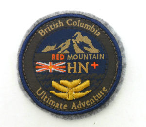 Custom Embroidered Woven Patches Emblem pictures & photos