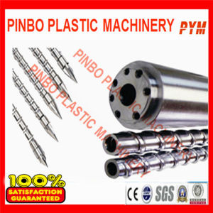 Plastic Injection Machine Screw Barrel for PE pictures & photos