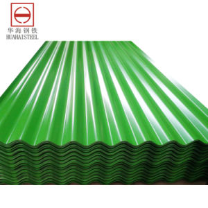 Color-Coated Roofing Galvanised Steel in Coil/Sheet (Yx10-125-875) pictures & photos
