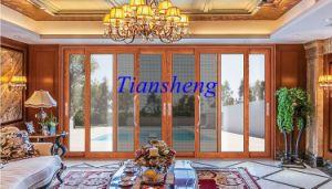 Aluminum Sliding Door, Double Glazed, Thermal Break Aluminum Frame pictures & photos