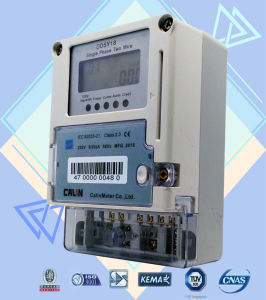 Single Phase IC Card Prepaid Energy Meter and Vending System pictures & photos