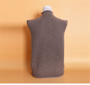 Women′s Yak Wool/Cashmere V Neck Cardigan Long Sleeve Coat/Clothes/Garment/Knitwear pictures & photos