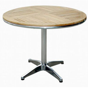 Outdoor Wooden Cafe Table (DT-06260R6) pictures & photos