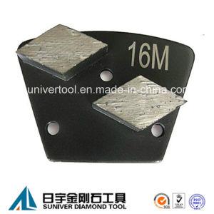Double Segments Trapezoid Diamond Metal Concrete Floor Grinding Disc pictures & photos