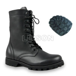 Tactical Boots Made of Cowhide Full Grain Leather pictures & photos