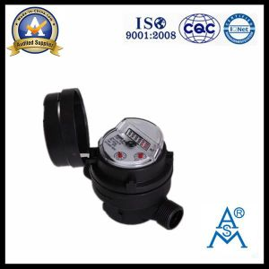 Single Jet Dry Type Vane Wheel Water Meter (LXSC-13D8bs) pictures & photos