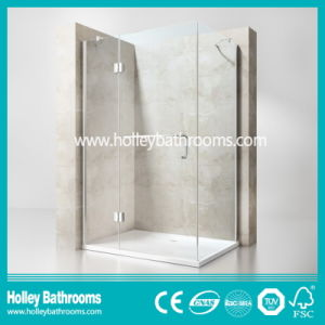 Hinger Door Ground Glass Single Door Selling Simple Steam Shower Room (SE715M)