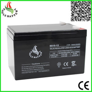 12V 10ah Rechargeable VRLA Lead Acid Battery for UPS