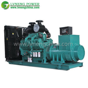 1000kw CE Approved Water-Cooled Open Type Cummins Generator pictures & photos