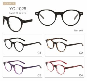 High Quality and Fashion Acetate Optical Frames Eyeglasses pictures & photos