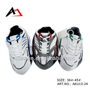 Shoe Uppers Semi Finished for Sports Shoes Aparts (AKU13-24) pictures & photos