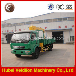 Hot Sale New 2 Ton Telescopic Boom Truck with Crane pictures & photos