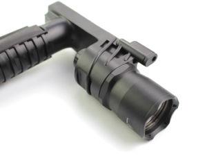 Erains Tac Optics Tactical 250 Lumens Dura Aluminum Grip Torch Flashlight with Reading Lamp pictures & photos