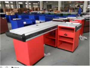 Stainless Steel Supermarket Cash Counter pictures & photos