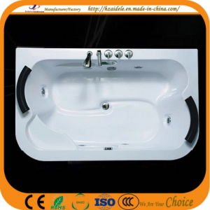 Left and Right Pillow Acrylic Big Massage Bathtub (CL-337) pictures & photos