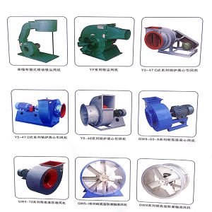 Yuton Large Air Delivery Axial Box Flow Fans pictures & photos