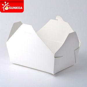 Disposable Take Away Lunch Box Parcel pictures & photos