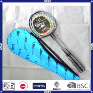 Made in China Customized Logo Promotion Quality Cheap Badminton Racket pictures & photos