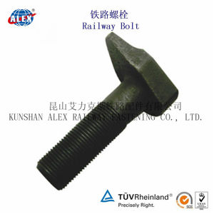 Odd Shaped Rail Bolt with Plain Oiled Made in China pictures & photos