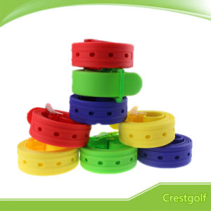Silicon Sport Belt Colorful Golf Belt Silicone Belt
