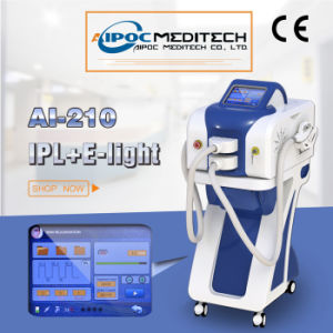 Multiple Functions Beauty Machine E-Light + IPL Two Handles Ai-210