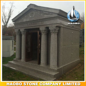 Walk in 6 Crypt Mausoleum with Carved Statue pictures & photos