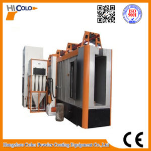 Multi-Cyclone After Filters Recovery System Electrostatic Powder Coating Booth pictures & photos