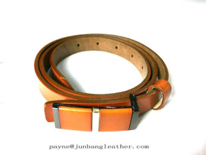 Personalized Plate Buckle Belt pictures & photos