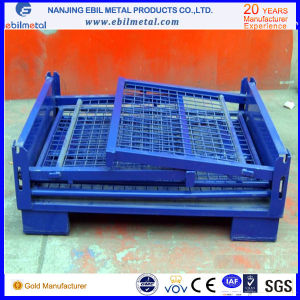 Popular Use Steel Q235 Fold Wire Box pictures & photos