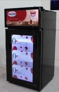 23 Inch Transparent Refrigerator Advertising Machine pictures & photos