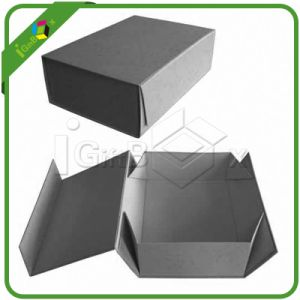 Flat Packed Printing Folding Gift Box / Paper Foldable Box / Folded Cardboard Packaging Box pictures & photos