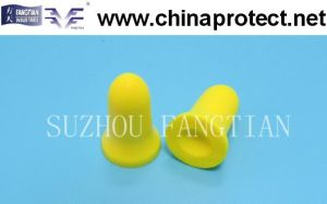Anti-Noise Foam Disposable Earplugs Without Cord pictures & photos